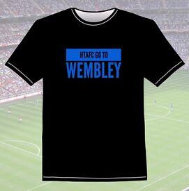 HTFC Football Club HTAFC Huddersfield Town Go To Wembley 2017 T Shirt