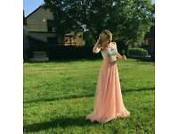 Wedding dress, bridesmaids