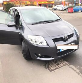 TOYOTA AURIS 1.3 VVTI TR -2009-54,000 MILES - MOT - DECEMBER 2017 - 4 BRAND NEW TYRES & BATTERY