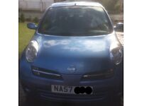 Nissan Micra Spirita 2007 Low mileage £2000 QUICK SALE!!!!!!
