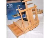 Windsor and Newton 'Arun' boxed Table Easel as new