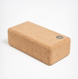 Cork yoga blocks - MANDUKA - brand new