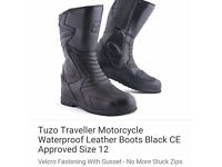 Motorcycle Boots. uk12. New with tags