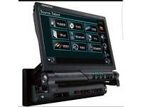Kenwood flip CD/DVD player