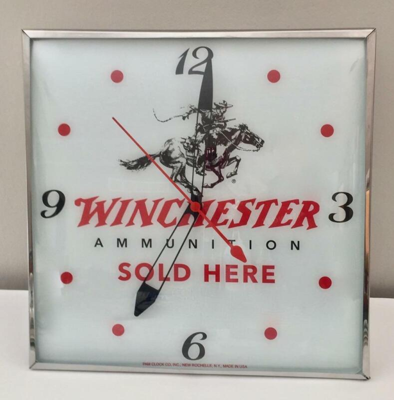 Pam Lighted Advertising Winchester Clock