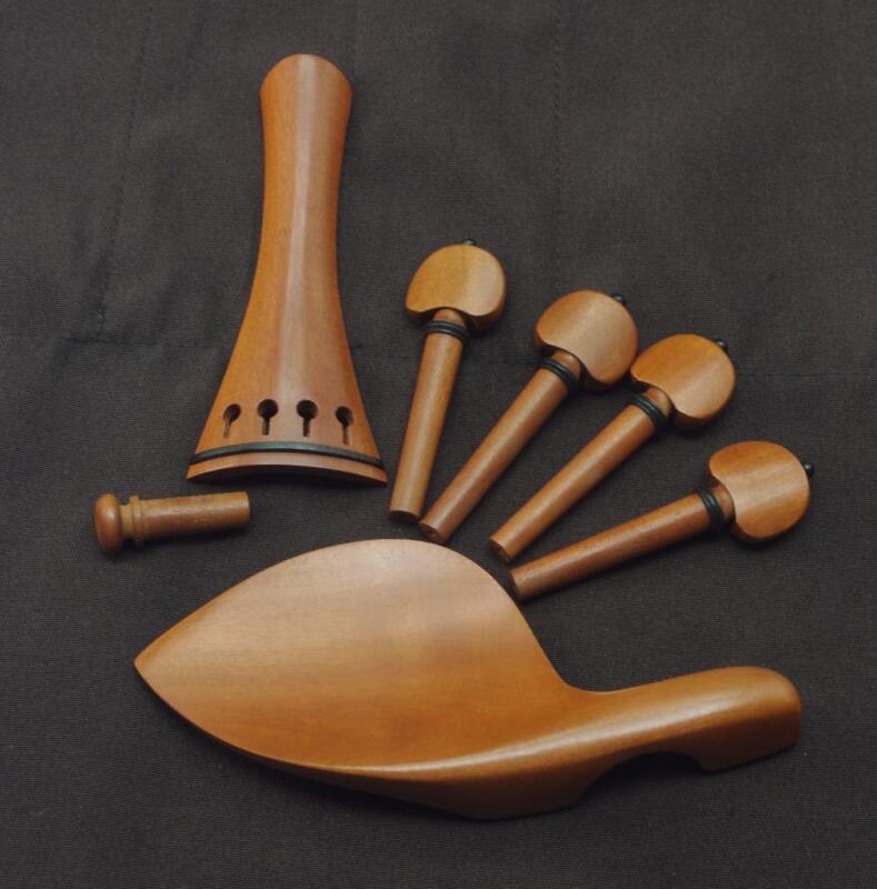 Violin Box wood fittings,Nice Quality #6801
