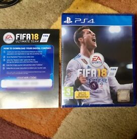 FIFA 18 Edition BRAND NEW SEALED with Voucher code which include special features!!