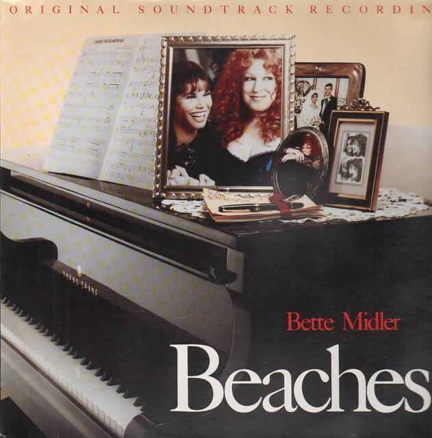 BEACHES Original Soundtrack Recording CD BRAND NEW Bette Midler