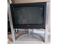Sony TV (32 inches) and stand