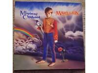 Vinyl Record Marillion Misplaced Childhood