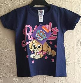 Nickelodeon Paw Patrol-Skye Tee 2-3 years Brand New with tags