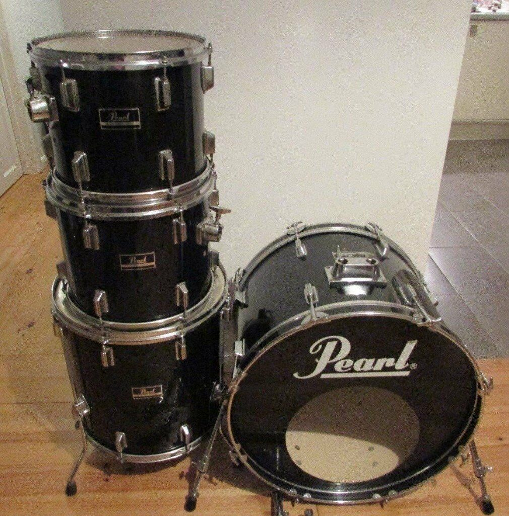 PEARL FORUM Drum Kit Shell Pack 1980's Vintage, Pro ...