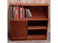 Mid century G plan Teak small bookshelf/ sideboard