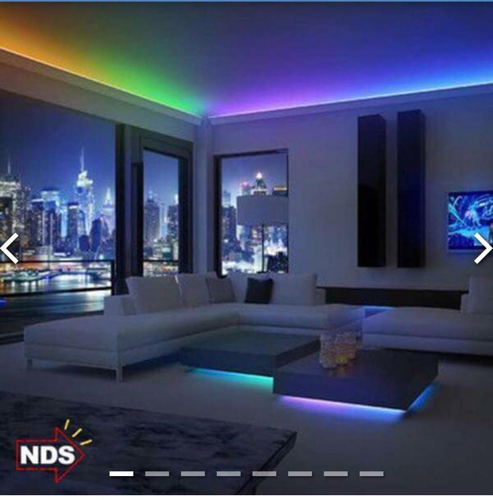 New Waterproof Strip Led Light In Changing Colour Rgb