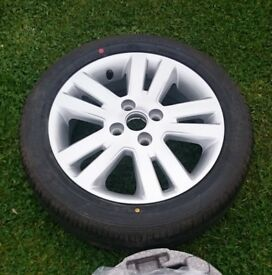 Chevrolet Spark Alloy Spare Wheel LTZ Model Brand New with Good Year Tyre Fitted