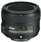 Refurbished: Nikon AF-S Nikkor 50 mm F 1.8 G 58 mm filter