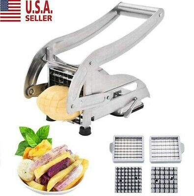 Stainless Steel French Fry Cutter Vegetable Potato Slicer