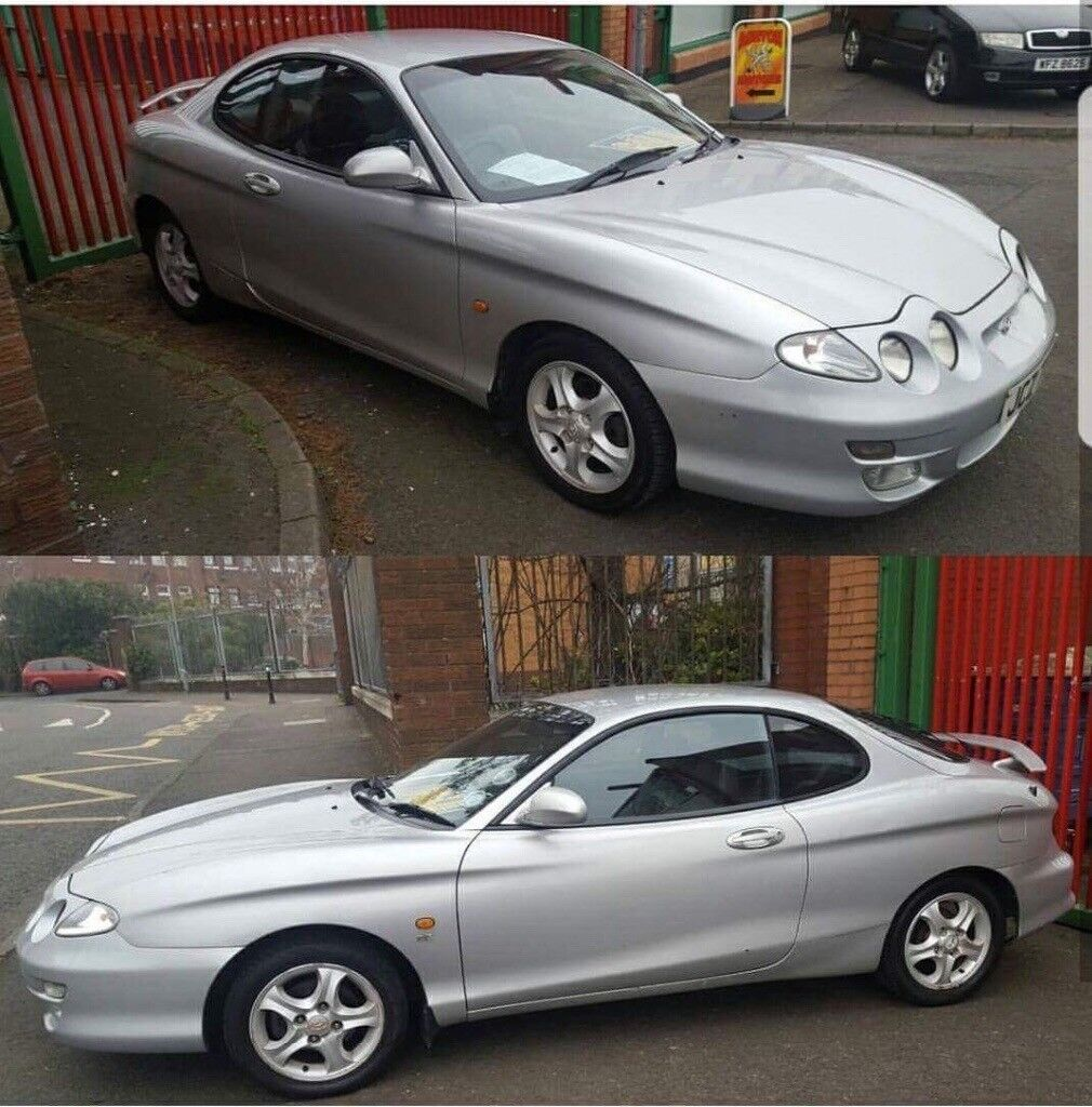 Hyundai coupe 2001 silver currently SORN off road cars in working condition MOT Jan 2018