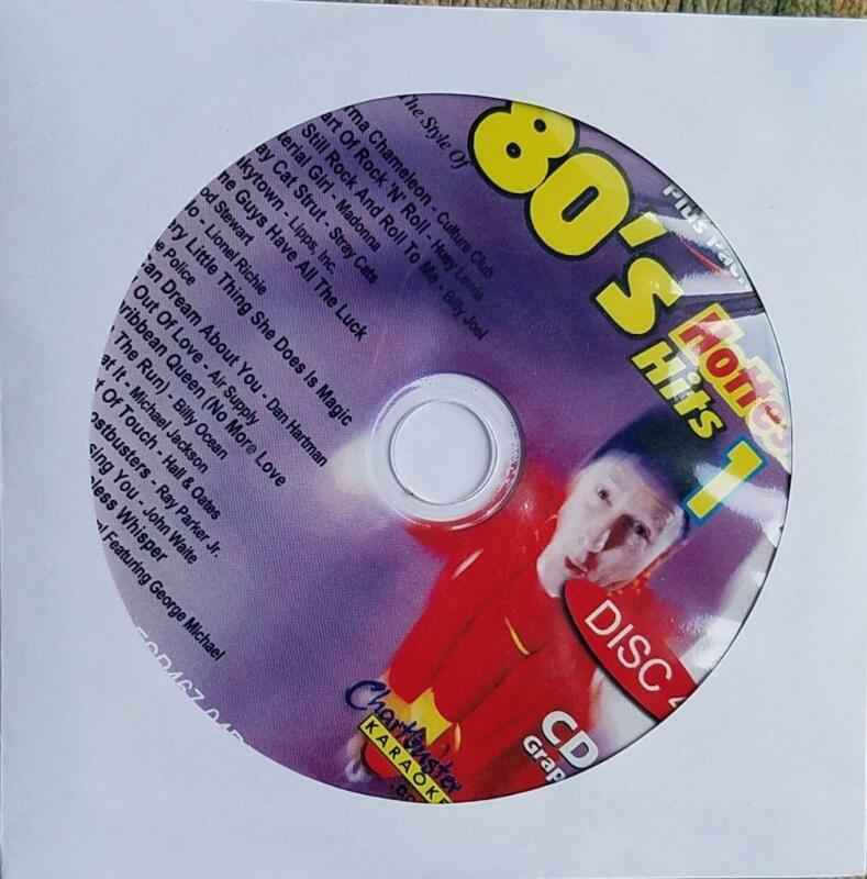 1980S CDG KARAOKE HOTTEST HITS CHARTBUSTER ESP467-04 WHAM!,POLICE,AIR SUPPLY