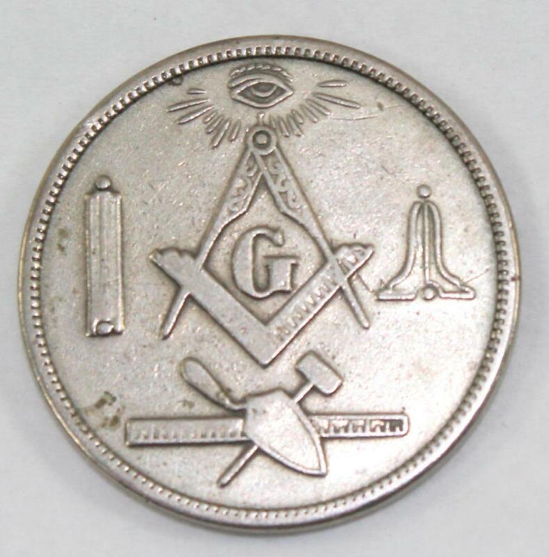 Rare 1867-1967 Masonic Sol D. Bayless Lodge No. 359 100th Anniversary Token