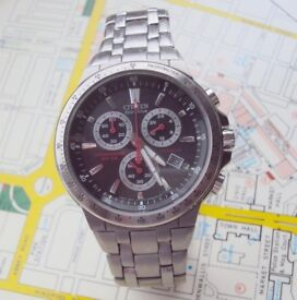 Citizen Eco Drive Titanium Fully functioning Chronograph. Very light.