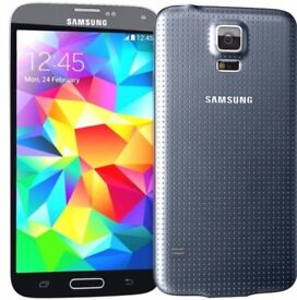 Samsung S5 Charcoal Black 16GB Unlocked!