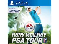Wanting rory mcilroy for ps4