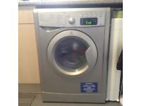 Indesit Washer/Dryer Silver IWDE7125S 7kg washing 5kg drying