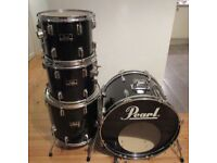 PEARL Drums, Bass drum, Snare Drum & Three Toms No Stands Or Cymbals