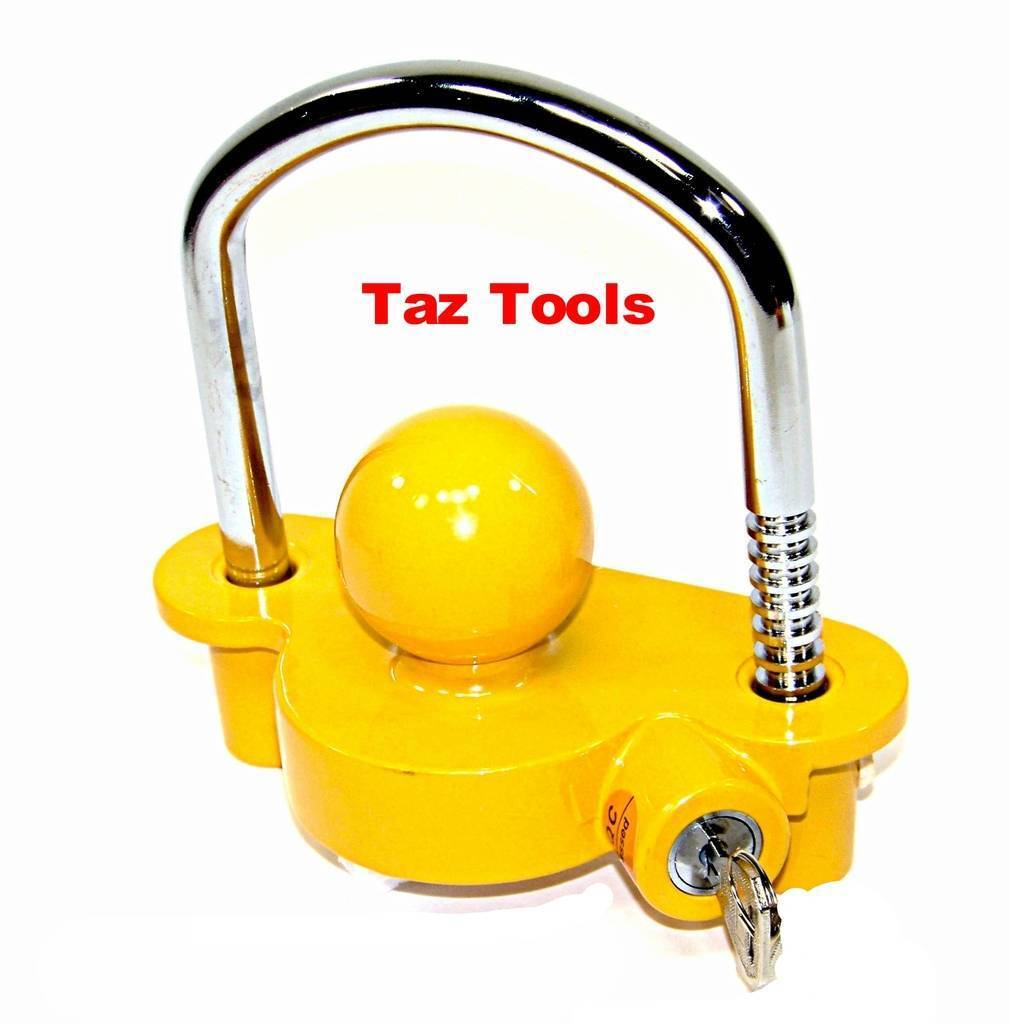 """Hitch Lock Universal Coupler Hitch Trailer Lock fits 1-7/8"""", 2"""", and 2-5/16"""" HD"""