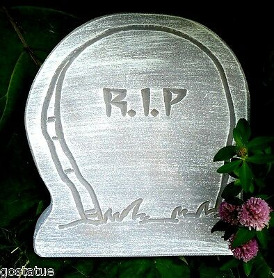 RIP simple  tombstone concrete mold plaster mold.. plastic mold mould