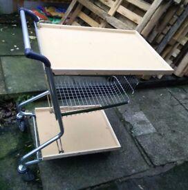 Custom made storage cart on wheels - £40 or best offer