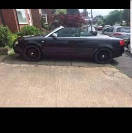 **NOT FOR SWAPS** Audi A4 Cabriolet black 2002 reg
