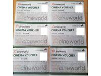 Cineworld x6 - Expiration 01/11/18