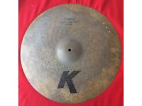 "20"" K-Custom Zildjian 'Peter Erskine Left-Side Ride' - RARE...!"