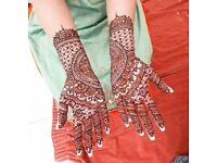 MEHNDI HENNA ARTIST OVER 16 YEARS PROFESSIONAL EXPERIENCE. COVERS ALL AREAS. BRIDAL/ PARTY/ FESTIVAL
