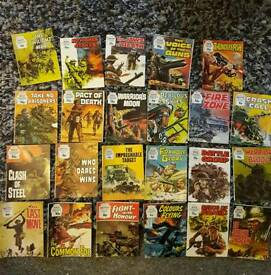 collection of small army comics