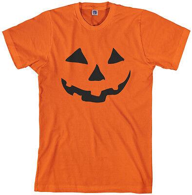 Face Pumpkin Halloween (Threadrock Men's Halloween Pumpkin Face T-shirt Jack O)