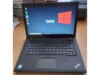Lenovo ThinkPad Laptop, Intel Core i5 6th Gen Processor, 128GB SSD HDD, 8GB Ram
