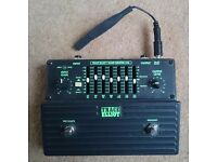 Trace Elliot 7-Band Graphic Equaliser pedal with Diego 9V to 18V adaptor