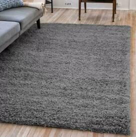 Brand New shaggy thick rugs grey size 230x160 cm thick shaggy£75