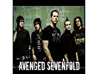 Avenged Sevenfold Tickets - BEST SEATS - o2 Arena, London - Saturday 21st January 2017