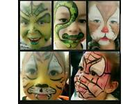 DIVINE FACE'S FACE PAINTING