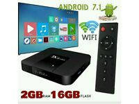ANDROID TV BOX. FREEVIEW HD SMART 4K