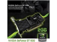Nvidia GeForce GT 630 2gb DDR3 Graphics Card