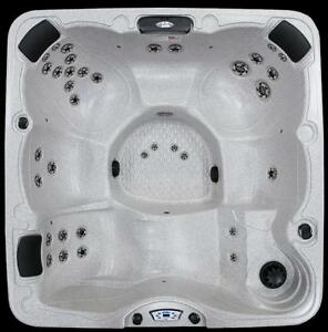 Calspa 7 x 7 hot tub 6 person hot tub basic , silver , gold packages ( finance as low as 50.00 bi-wkly )