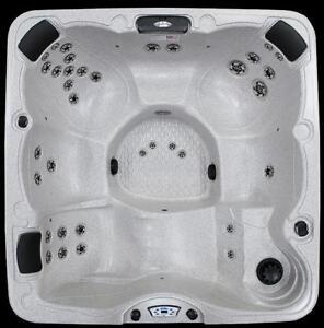 Calspa 7 x 7 hot tub 6 person hot tub