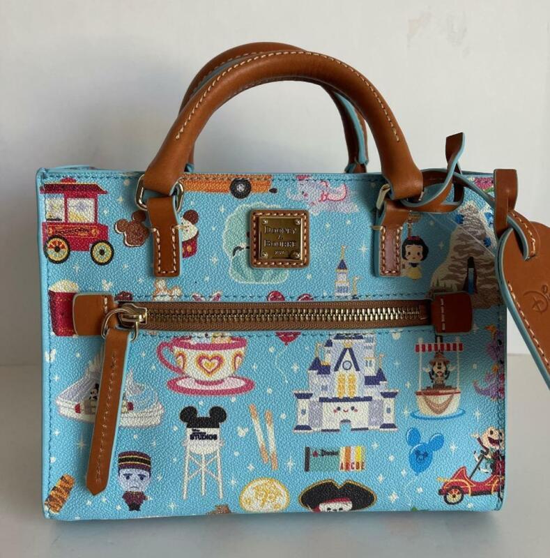 Disney Dooney & Bourke Jerrod Maruyama Crossbody Handbag NWT This Placement