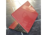 packard bell red i5 laptop * microsoft office * webcam * hdmi * trade in welcome *
