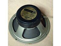 Vintage Celestion G12H guitar speaker 16ohm